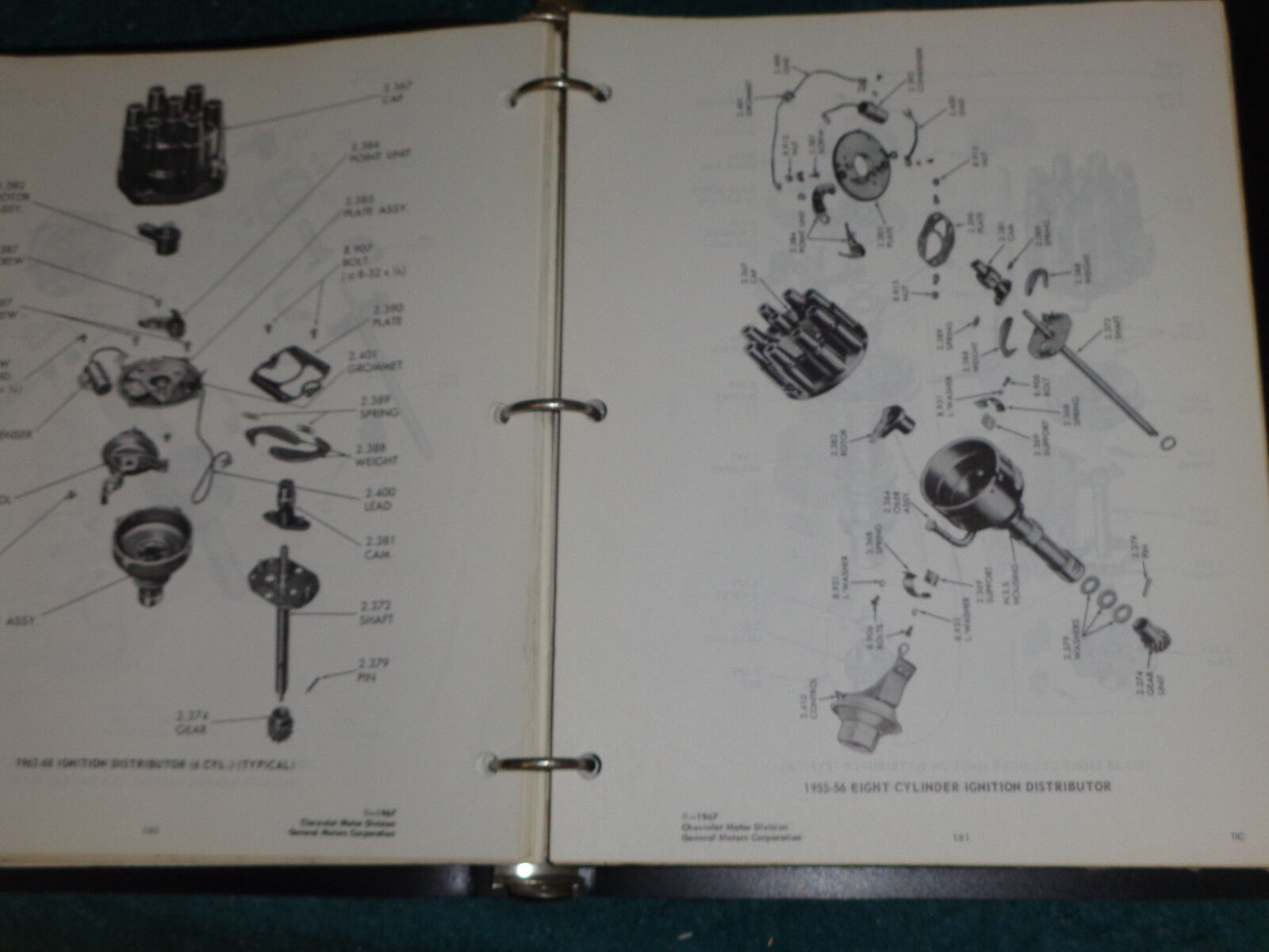 1955 1957 1960 1964 1966 1968 Chevrolet Truck Illustrations Parts Chevy Catalog Book