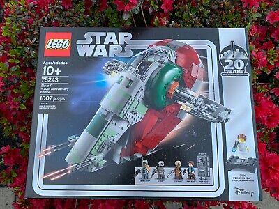 LEGO Star Wars Slave l 20th Anniversary Edition 75243 LEGO NEW Sealed free ship