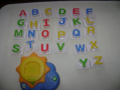 Leap Frog Fridge Phonics Magnetic Alphabet Sun Sunshine Letters ABC Complete