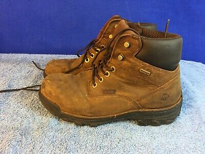 4e616d463bc WOLVERINE STEEL TOE 6 WORK BOOTS W04013 SIZE 8 5 M NEW