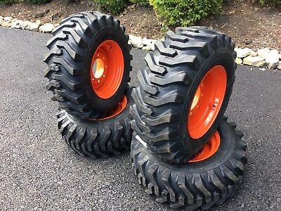 12-16.5 Camso Sks332 Tireswheels For Bobcat Skid Steer - New 12 Ply Version