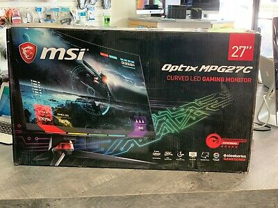 "MSI OPTIX MPG27C 27"" Curved Full HD 144Hz 1ms Gaming Monitor w/ RGB LED Lighting"