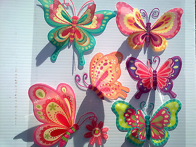3D Removable Butterfly Art Decor Wall Stickers Kids Room/ Decals for Girls