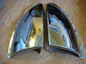 Vents-Ventilator-Chrome-BRASS-NOS-Chris-Craft-Lyman-Century-Vent-Left-Right