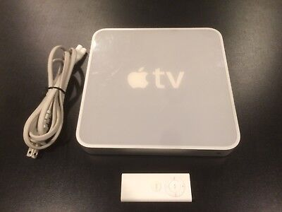 Apple TV (1st Generation) 40GB Media Streamer (with remote and power chord)