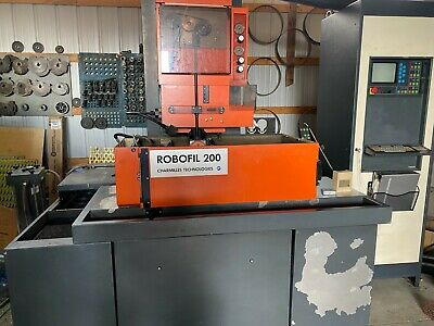 Charmilles Robofil 200 Wire Edm Currently Under Power Available For Inspection