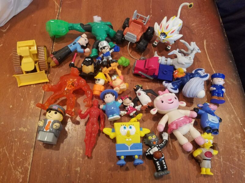Lot 15 Random Mixed Fisher Price Imaginext Adventure Space Shuttle Action Figure