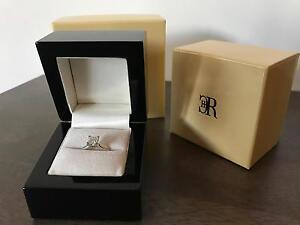 Valued at $14,765 Charles Rolse 18ct Wt Gold Diamond Engagement Melbourne CBD Melbourne City Preview
