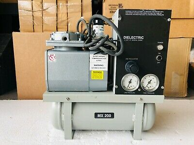 Dielectric Communications Compressor Dehydrator Air Dryer Model 200 Mx200 Mx200a