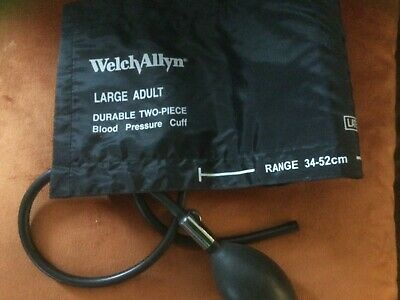 Welch Allyn Large Blood Pressure Cuff With Bulb