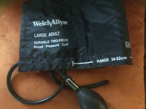Welch Allyn large blood pressure cuff with bulb