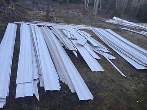 Beige siding material - 7 square plus 9 square