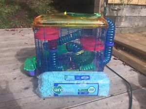 Hamster/ gerbil cage and accessories