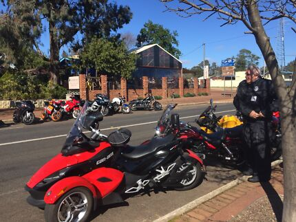 Can Am Spyder SE5 2008 Roadster Red Over Black Seville Grove Armadale Area Preview
