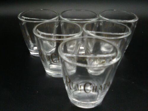 Set of 6 Shot A Chata Glasses Rum Divided Split