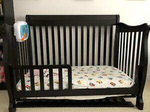 Baby Crib Change table and glider