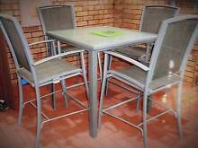 Mimosa Outdoor Bar Setting, 5 piece, Tall Table and Chairs Claremont Nedlands Area Preview