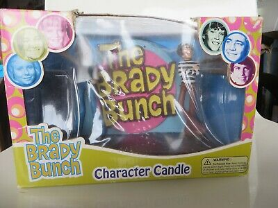 THE BRADY BUNCH CHARACTER CANDLE WITH MARCIA& GREG NEW IN BOX](Candle Character)