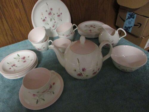 Vintage Foley Tea Service for 6-22 pcs.-Mint