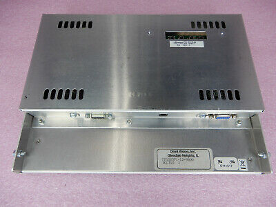Omni Vision Fp10b5f1-12-9600 Flat Touch Panel Hmi 701115-02