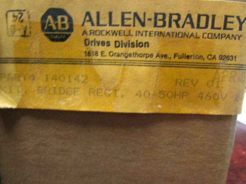 Allen Bradley 140142 Rectifier Bridge