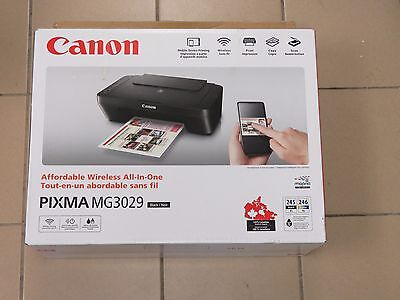 Canon PIXMA Wireless All-In-One Inkjet Printer (MG3029) (MSRP $99.99)