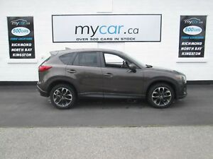2016 Mazda CX-5 GT GT, LEATHER, SUNROOF, NAV, AWD!!