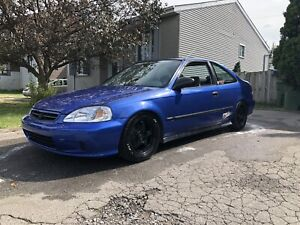 Honda civic 2000 swap b20vtec