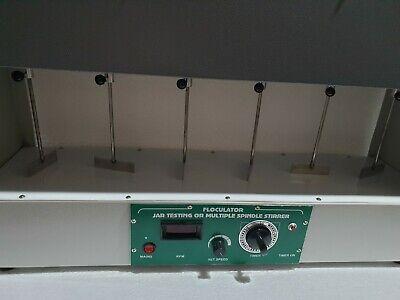Digital Floculator Six Jar Test Apparatus 220v Medical Lab Equipment