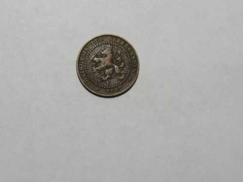 Old Netherlands Coin - 1902 1 Cent - Circulated