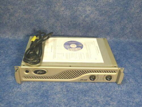 Peavey IPR-1600 Power Amplifier 800 Watt per, 2 Channels Rackmount only 7 Lbs!!