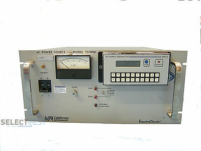 California Instruments 751tpm Ac Source 700vawith 849ta Controller Module