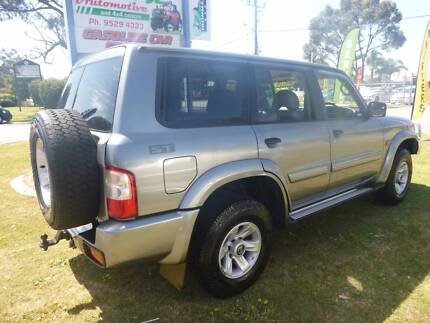 2003 Nissan Patrol Wagon ST 7 SEATER 4.2L TURBO-DIESEL !! East Rockingham Rockingham Area Preview