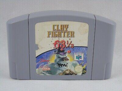 Clay Fighter 63 1/3 N64 Nintendo 64 Cartridge PAL