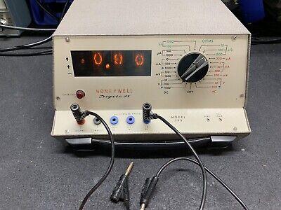 Honeywell Multimeter Test Equipment
