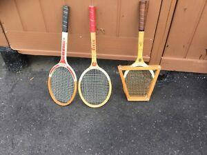 Raquette de tennis et de badminton