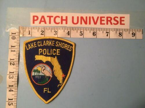 LAKE CLARKE SHORES FLORIDA  POLICE  SHOULDER PATCH  P092