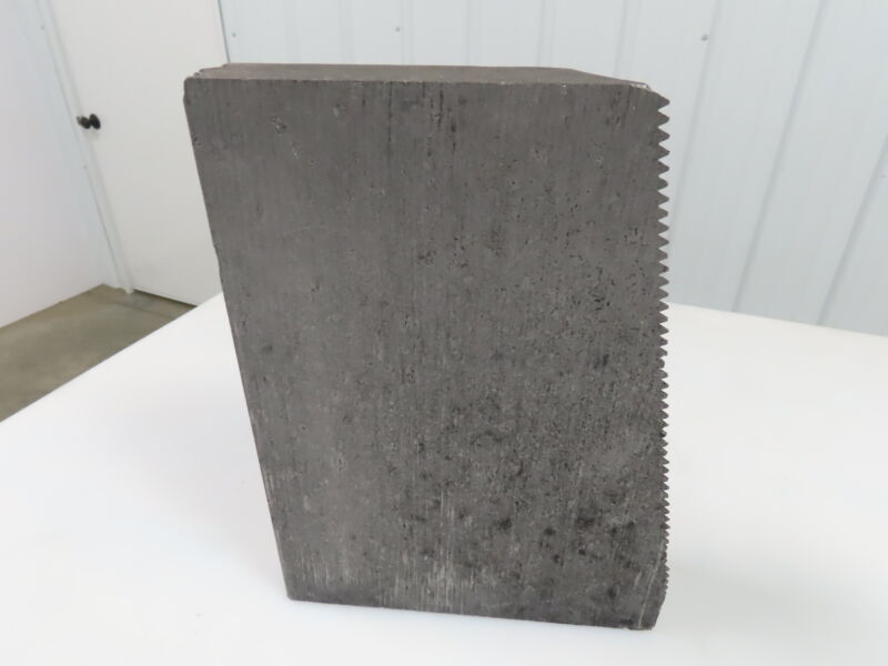 "Graphite Milling Block Bulk Chunks High Density Carbon 11.5x6x3"""