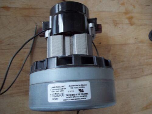 NEW SURPLUS AMETEK LAMB ELECTRIC 116590-00 ACUSTER 2 STAGE BYPASS VACUUM MOTOR