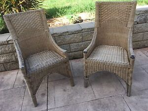 Cane outdoor chairs Beaumont Hills The Hills District Preview