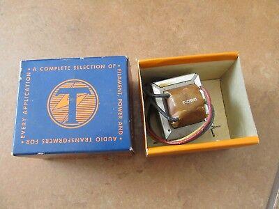 Thordarson Vibrator Power Transformer T-22r41 450 900 Vdc 15ma Secondary