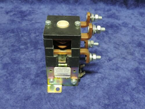 USED WORKING CONTACT INDUSTRIES CT100C-12D2  32AF01-216F CONTACTOR