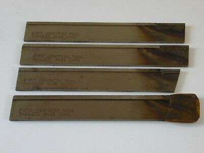 3 New 1 Used Acme Grooving Tool Carbide Cut Off Parting Blade 18 X 78 X 6