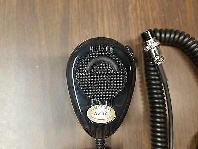 Turner RoadKing RK56B Black 4pin Mic Dynamic Noise Canceling CB Microphone Boxed
