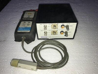 Tektronix 1103 Probe Power Supply With P5205 High Voltage Differential Probe