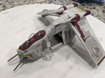 Micro Machines Star Wars Action Fleet Republc Gun Ship Display Kept