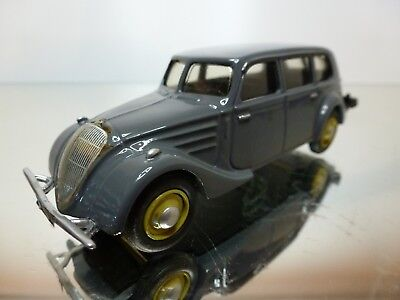 MINI ROUTE PEUGEOT 402 CONNERCIALE 1937 GREY 1:43 EXCELLENT CONDITION 12