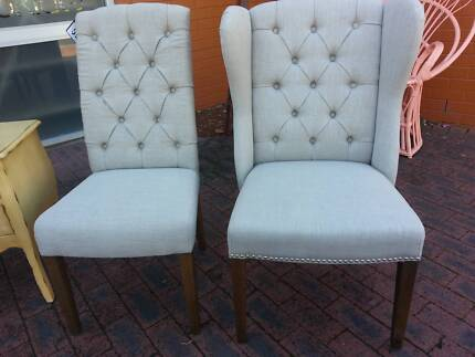 Dining chairs wingback and non wingback Midland Swan Area Preview
