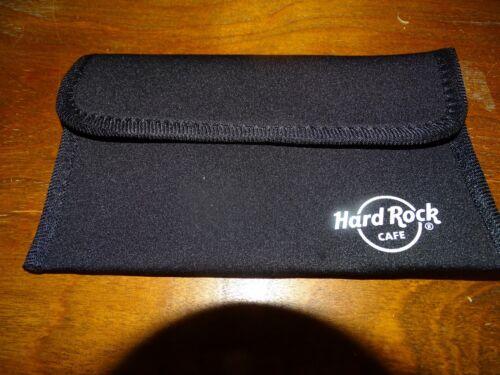 HARD ROCK CAFE NEOPRENE CASE SUNGLASS POUCH ALL PURPOSE NEW