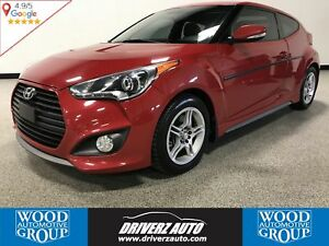 2013 Hyundai Veloster Turbo TURBO, 6 SPEED MANUAL, LEATHER